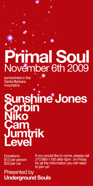90hz.org / Sunshine Jones @ Primal Soul - November 6th 2009